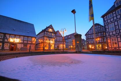 Историческият център на Корбах