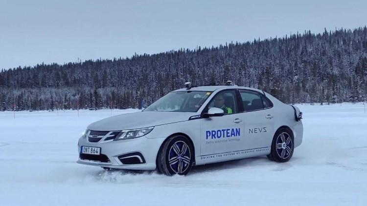 Колата на Protean Electric