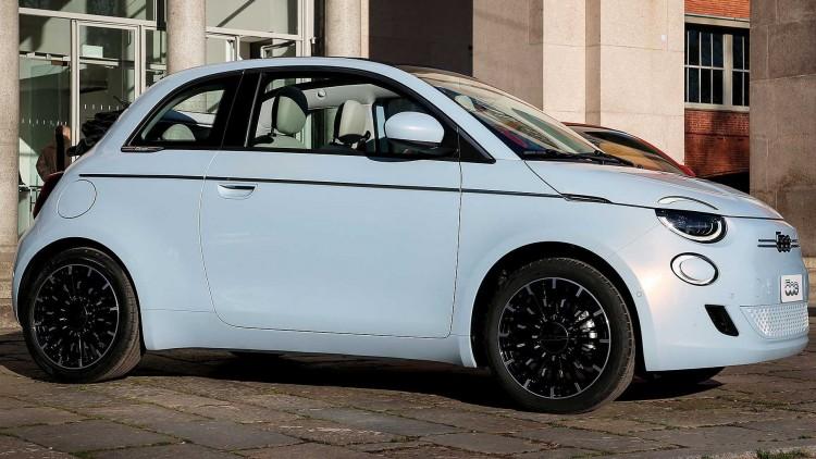 Новият Fiat 500e