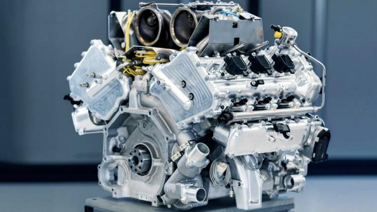 Двигателят на Aston Martin
