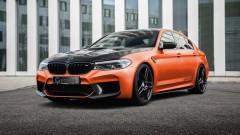 BMW M5 ускорява като Bugatti Veyron<br /> 7 снимки