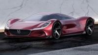 Дизайнер на Mitsubishi нарисува суперкола на Mazda