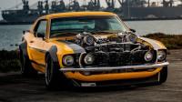 Стар Ford Mustang с характеристики на Bugatti