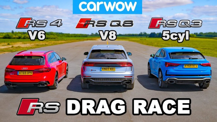 Битката между RS моделите на Audi