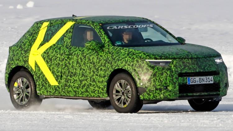 Шпионска снимка на Opel Mocca