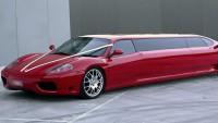 Продава се уникална стреч лимузина Ferrari