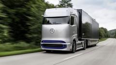 Mercedes показа първия си камион на водород<br /> 6 снимки