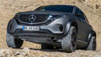 Заснеха най-големия електрически SUV на Mercedes