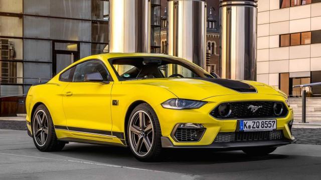 Ford Mustang Mach 1 идва в Европа с 453 к.с.