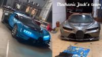Вманиачен механик си направи сам Bugatti Vision Gran Turismo
