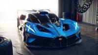 Спортното Bugatti Bolide вдига 500 км/ч (видео)
