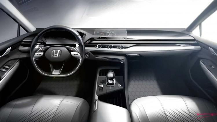 Новият интериорен дизайн на Honda