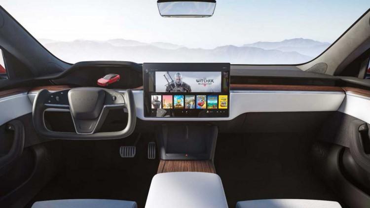 Новият интериор на Tesla