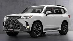 Lexus отлага премиерата на новия LX<br /> 1 снимки